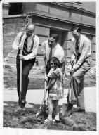 Ground Breaking Ceremony for 1953 Addition, Denver Musuem of Natural History