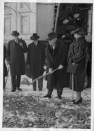 Sen. & Mrs. Phipps breaking ground for Phipps Auditorium construction