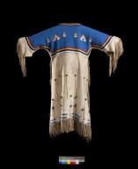 Sioux buckskin girl's dress