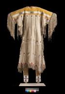Cheyenne buckskin dress