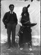 Chauncey Yellow-Robe and Chief Yellow-Robe