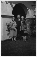 Roland Reed with Mother and Sister