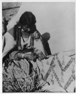 Jicarilla Apache basket maker