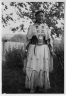 Young Apache woman in native costume