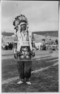 Jicarilla Apache Dancer in costume