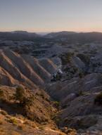 Sunset on the Kaiparowits Plateau.