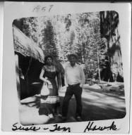 Tom and Susie Hawk, Sequoia Natl. Park, July 20, 1957