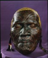 Mask of Maori Chief