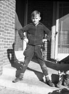 Boy with Play Gun