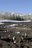 Snowmastodon Excavation Site