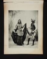 Hindu Dancing Girl.