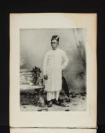 Portrait of a Parsi.