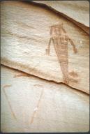 Petroglyphs in Glen Canyon