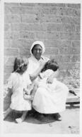 Unidentified Tohono O'odham Woman and Children