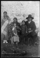 Sioux family group