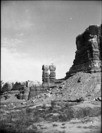 Navajo Twins [geologic formation ]