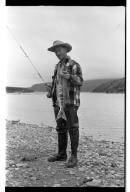 Fishing at McNeil River, Alaska