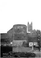 Roman wall Canterbury