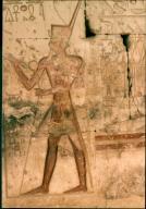 Artwork at Temple of Seti I