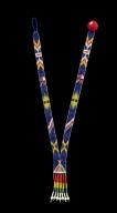 Seminole Glass Bead Necklace