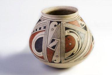 ceramic necked jar