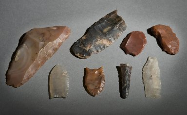 Projectile points and other worked stone