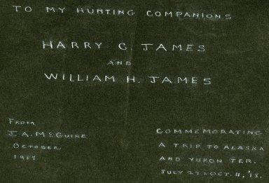 Album title page