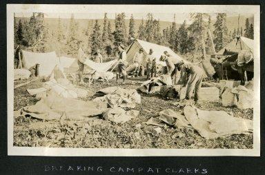 Breaking Camp at Clark's