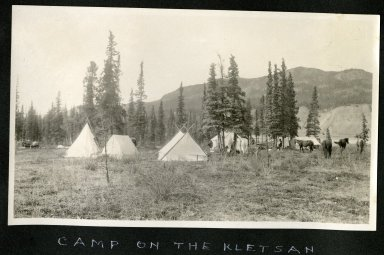 Camp on the Klestsan