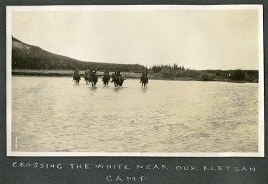 Crossing the White Near Kletsan Camp