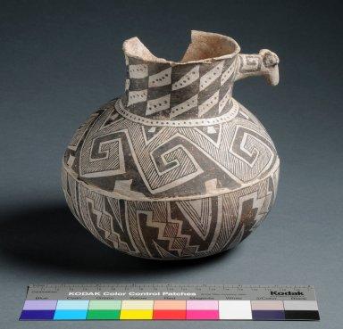 Cibola Ancestral Pueblo Clay Effigy Jar