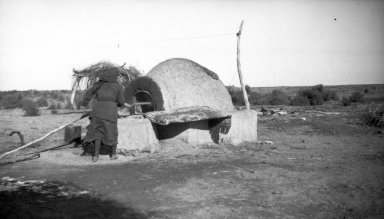 Bread oven at Finca