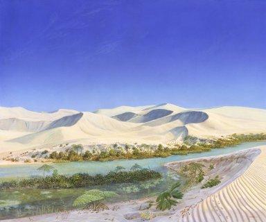 Ancient Denvers Paintings - Sand Planet
