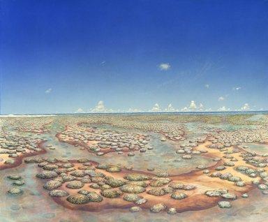 Ancient Denvers Paintings - Slimey Shoreline
