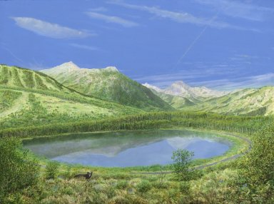 Snowmass Village paintings - Today, Summer