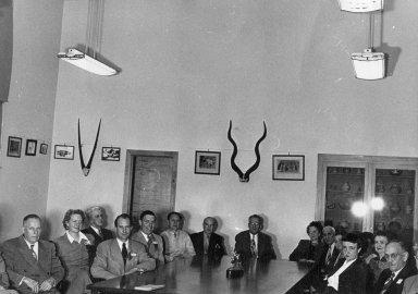DMNH staff 1950.