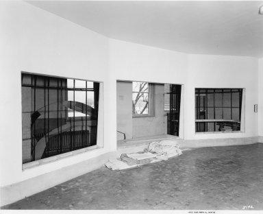 Construction of the Dora Porter Mason Butterfly Hall