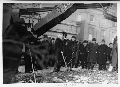 Phipps Auditorium Ground Breaking 1938