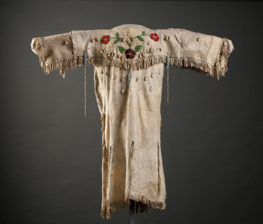 Shoshone buckskin dress