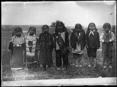 Before entering school 1897