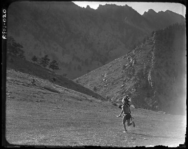 The Indian Runner. #3 Indian running away from camera