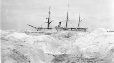 U.S.R.C. 'Bear' in ice