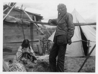 Jicarilla Apache couple