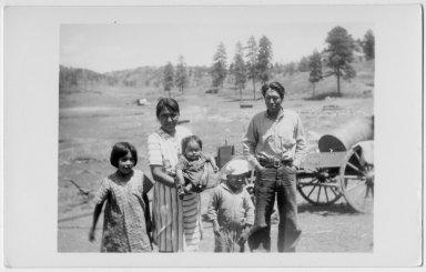 Jicarilla Apache family