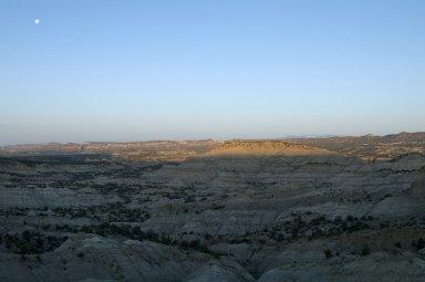 Sunrise on the Kaiparowits Plateau.