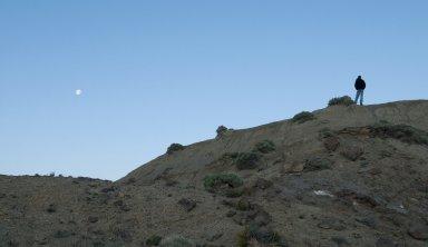 Before sunrise on the Kaiparowits Plateau.
