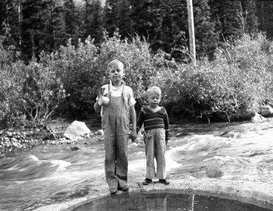 Two unidentified boys