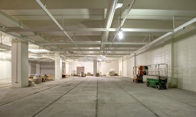Education and Collections Facility-Interior