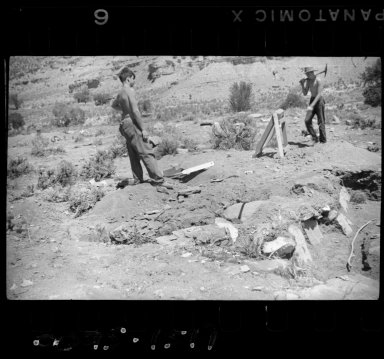 Excavation work at Turner Site