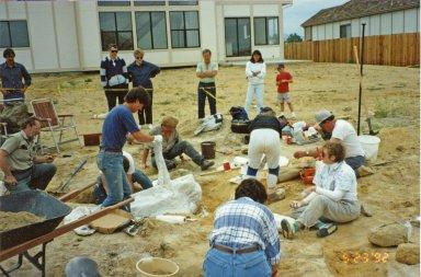 Excavation in Ken Caryl Ranch